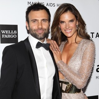 Jamie Mazur, Alessandra Ambrosio in 2013 amfAR Inspiration Gala Los Angeles Presented by MAC Viva Glam