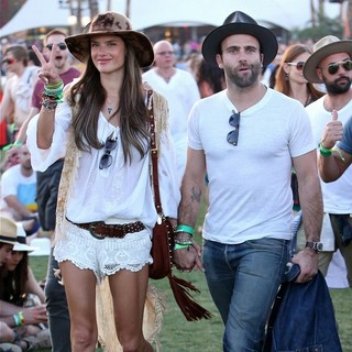 Alessandra Ambrosio, Jamie Mazur in The 2013 Coachella Valley Music and Arts Festival - Week 1 Day 1