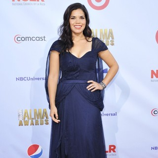 America Ferrera in 2012 NCLR ALMA Awards - Arrivals