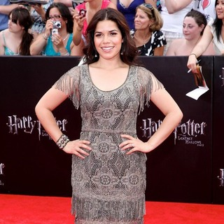 America Ferrera in New York Premiere of Harry Potter and the Deathly Hallows Part II - Arrivals