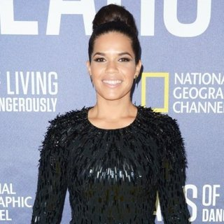 America Ferrera-National Geographic's Years of Living Dangerously Season 2 World Premiere - Red Carpet Arrivals