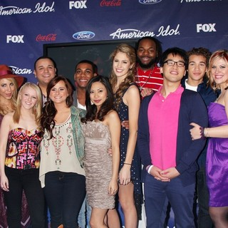 Jessica Sanchez in The American Idol Season 11 Top 13 Party - american-idol-season-11-top-13-02