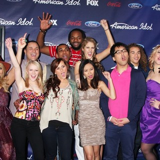 The American Idol Season 11 Top 13 Party