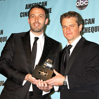 Ben Affleck, Matt Damon in The American Cinematheque 24th Annual Award Presentation to Matt Damon - Arrivals