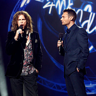 Steven Tyler, Ryan Seacrest in American Idol Reveals New Judges for Season 10