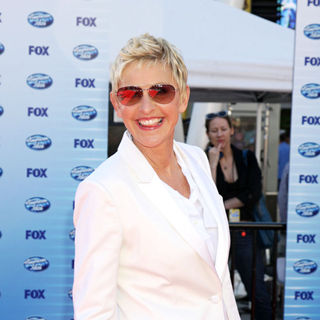 Ellen DeGeneres in The American Idol Season 9 Finale - Arrivals