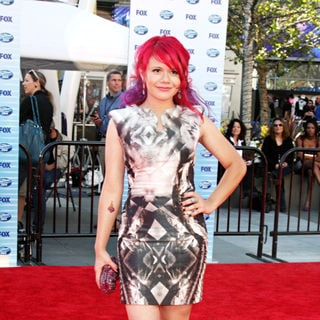 Allison Iraheta in The American Idol Season 9 Finale - Arrivals