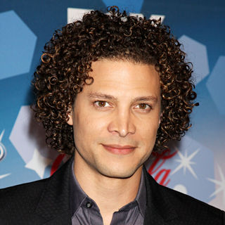 Justin Guarini in The American Idol Top 12 Party for Season 9