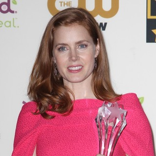 Amy Adams in The 19th Annual Critics' Choice Awards - Press Room