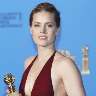 Amy Adams in 71st Annual Golden Globes - Press Room