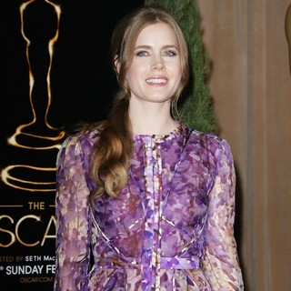 Amy Adams in 85th Academy Awards Nominees Luncheon