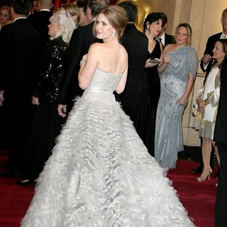 Amy Adams in The 85th Annual Oscars - Red Carpet Arrivals