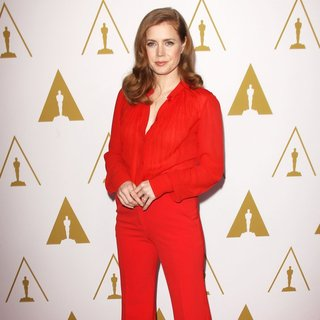 Amy Adams in The 86th Oscars Nominees Luncheon - Arrivals