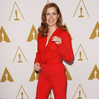 Amy Adams in The 86th Oscars Nominees Luncheon - Arrivals - amy-adams-86th-oscars-nominees-luncheon-10
