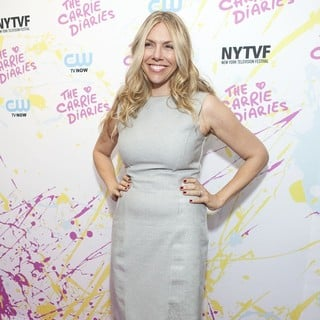 Amy B. Harris in The Carrie Diaries Premiere
