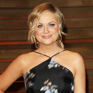 Amy Poehler in 2014 Vanity Fair Oscar Party