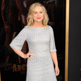 Amy Poehler in Anchorman: The Legend Continues Premiere Sponsored by Buffalo David Bitton