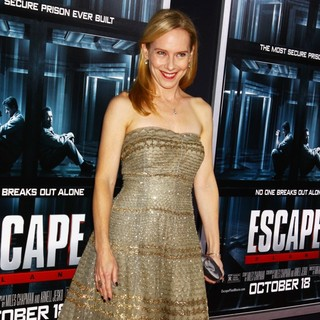 Amy Ryan in New York Movie Premiere for Escape Plan