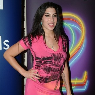Amy Winehouse - Backstage at The BBC Jazz Awards