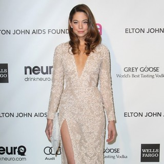 Analeigh Tipton in 21st Annual Elton John AIDS Foundation's Oscar Viewing Party