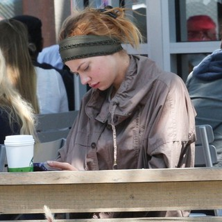 Analeigh Tipton in Analeigh Tipton at Starbucks in West Hollywood
