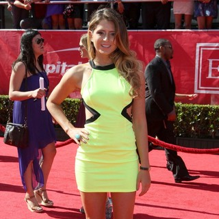 Anastasia Ashley in 2012 ESPY Awards - Red Carpet Arrivals