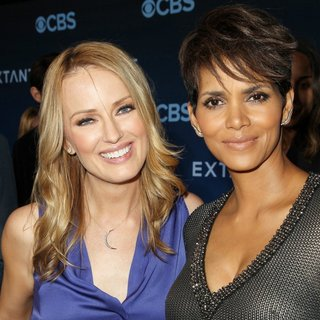 Brooke Anderson, Halle Berry in CBS Television Presents Extant Premiere Party