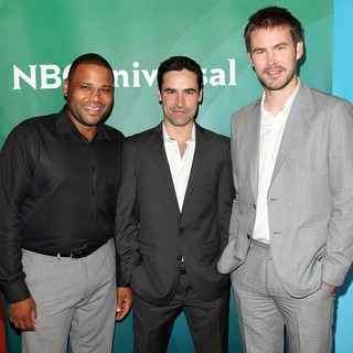 Anthony Anderson, Jesse Bradford, Zach Cregger in NBC Universal Press Tour