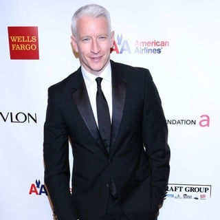 Anderson Cooper in The Elton John AIDS Foundation's 11th Annual An Enduring Vision Benefit - Arrivals