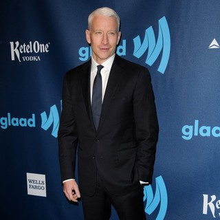 Anderson Cooper in 24th Annual GLAAD Media Awards - Arrivals