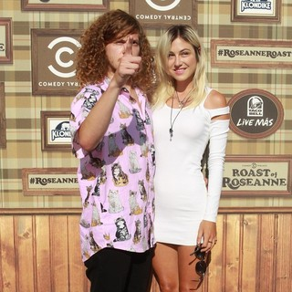 Blake Anderson, Rachel Finley in Comedy Central Roast of Roseanne Barr