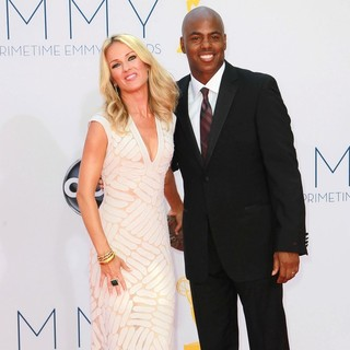 Brooke Anderson, Kevin Frazier in 64th Annual Primetime Emmy Awards - Arrivals