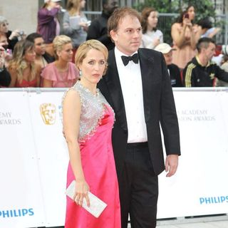 Gillian Anderson, Mark Griffiths in Philips British Academy Television Awards in 2011 - Arrivals