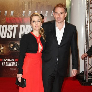 Gillian Anderson, Mark Griffiths in The UK Premiere Mission: Impossible - Ghost Protocol - Arrivals