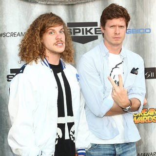 Blake Anderson, Anders Holm in Spike TV's Scream 2011 Awards - Arrivals