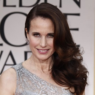 Andie MacDowell - The 69th Annual Golden Globe Awards - Arrivals