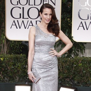 Andie MacDowell in The 69th Annual Golden Globe Awards - Arrivals