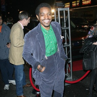 Andre Benjamin in Andre Benjamin Arrives at Party Thrown by Clive Owen