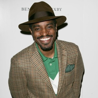 Andre Benjamin in Andre 3000 Launch Party for His Fashion Range