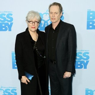 Jo Andres, Steve Buscemi in New York Premiere of The Boss Baby - Arrivals