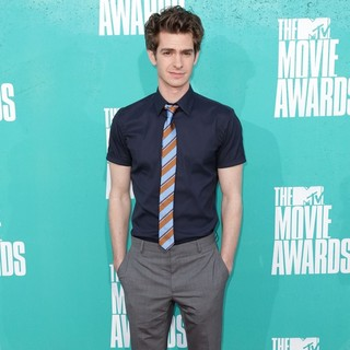 Andrew Garfield in 2012 MTV Movie Awards - Arrivals