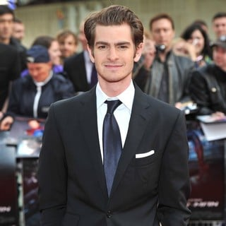 Andrew Garfield in The Premiere of The Amazing Spider-Man