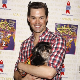 Andrew Rannells in Broadway Barks: The 13th Annual Dog and Cat Adopt-a-Thon