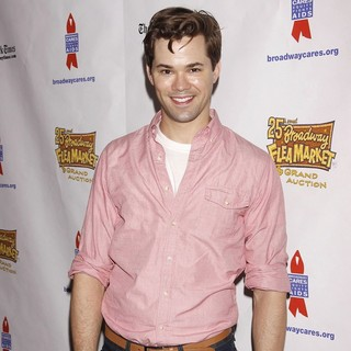 Andrew Rannells in The 25th Annual Broadway Flea Market and Grand Auction to Benefit Broadway Cares-Equity Fights AIDS - andrew-rannells-25th-annual-broadway-flea-market-and-grand-auction-01