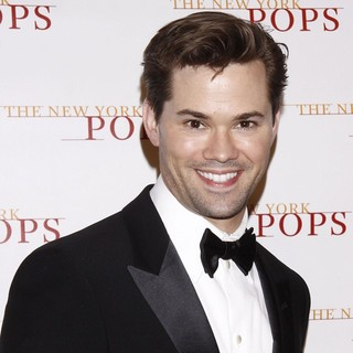 Andrew Rannells in The New York Pops 29th Birthday Gala Dinner Dance - Arrivals