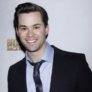 Andrew Rannells in After Party for Broadway Backwards 7 - Arrivals - andrew-rannells-broadway-backwards-7-01