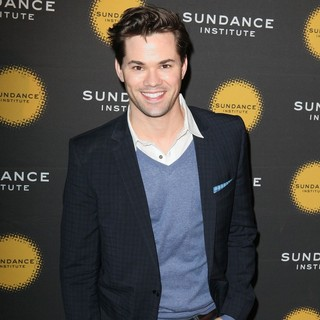 Andrew Rannells in The Sundance Institute Hold Their First-Ever New York Benefit Celebrating Its Theatre Programme