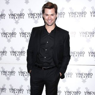 Andrew Rannells in Opening Night for Too Much Sun - Arrivals