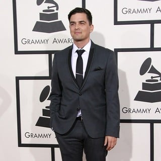 Andy Caldwell in The 56th Annual GRAMMY Awards - Arrivals