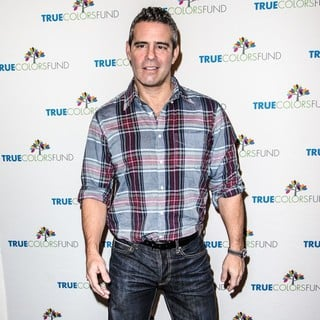 Andy Cohen in Cyndi Lauper and Friends: Home for The Holiday's Concert - Arrivals